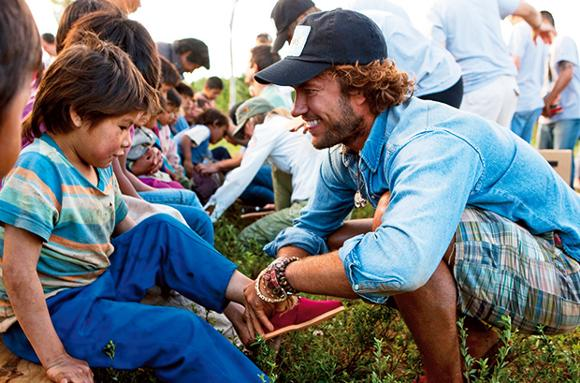 923b91c434b Blake Mycoskie  Making great strides - Friday Magazine