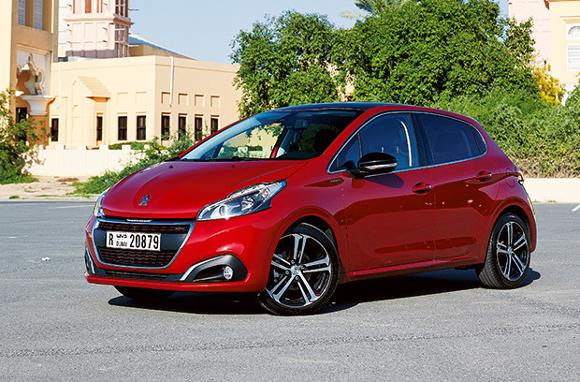 peugeot 208 gt line driven friday magazine. Black Bedroom Furniture Sets. Home Design Ideas