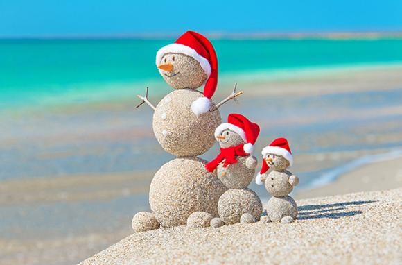celebrate christmas on the beach friday magazine - Christmas On The Beach