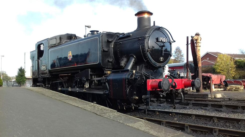 Hot, steamy passion: A day in the life of a steam train