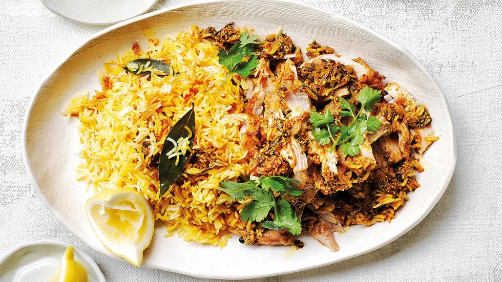 Chicken biryani friday magazine for Chicken biryani at home