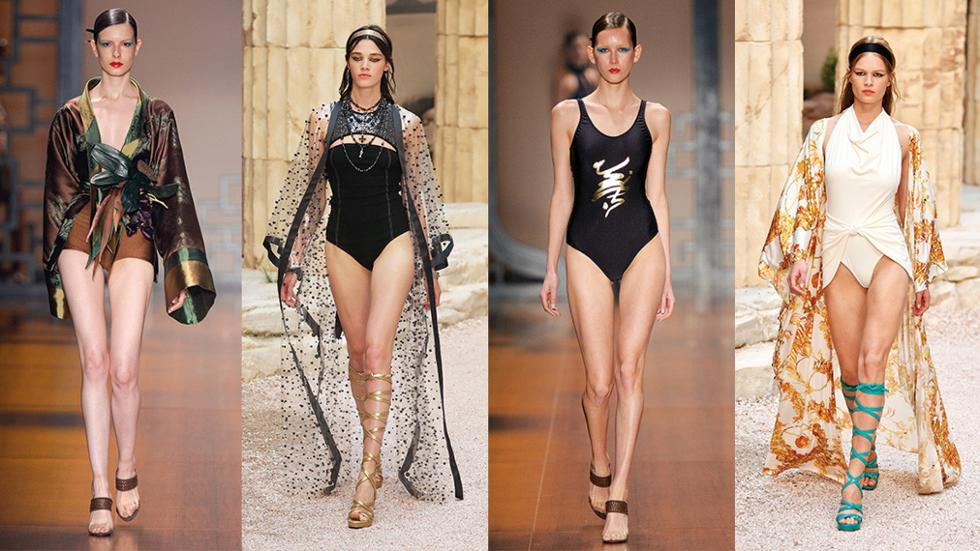 3672593192b The return of one-piece swimsuits: Summer 2018's hottest trend ...